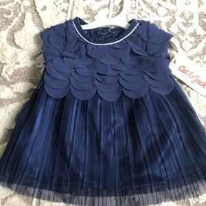 Cat & Jack Pleated Dress and Bloomer